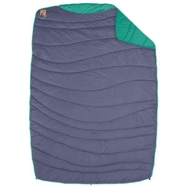 Nemo - Puffin Blanket - Decke rot;braun;grau/blau