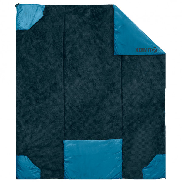 #Klymit – Versa Luxe Blanket – Decke Gr 203 x 147 x 0,8 cm schwarz/blau#