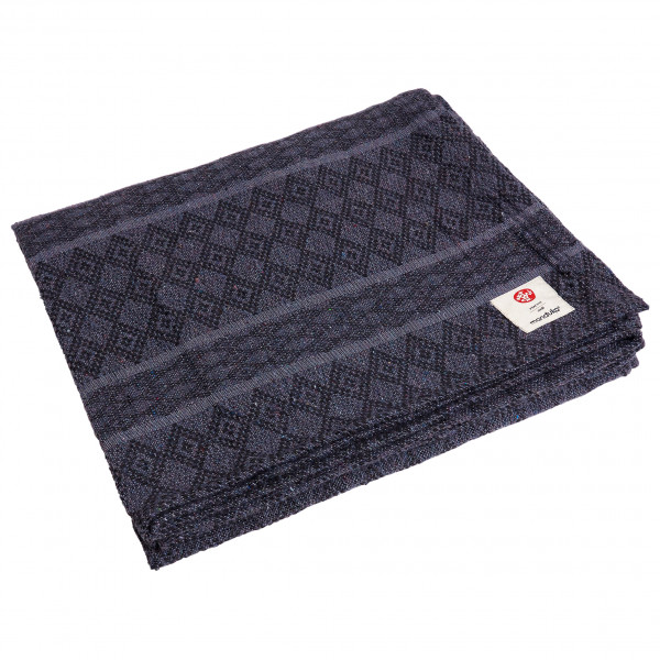 Manduka - Cotton Yoga Blanket - Decke Gr One Size thunder 4G103A134