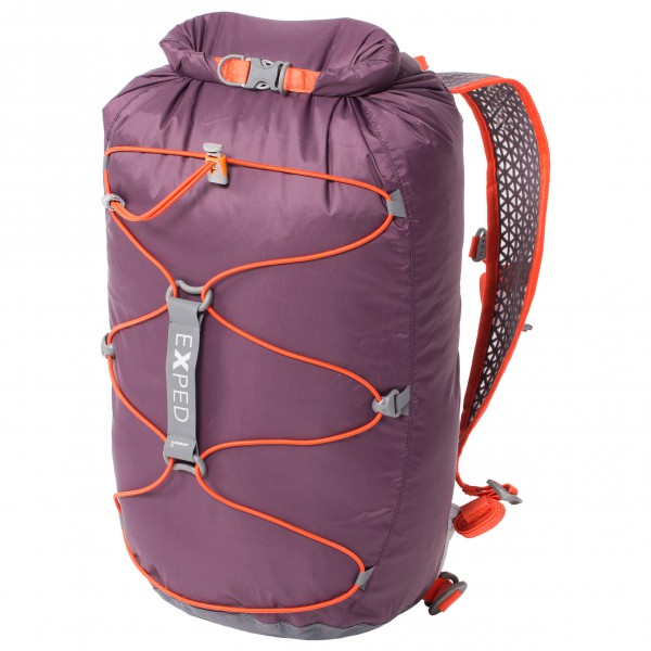 Image of Exped Cloudburst 15 Packsack Gr 15 l rosa/lila/grau