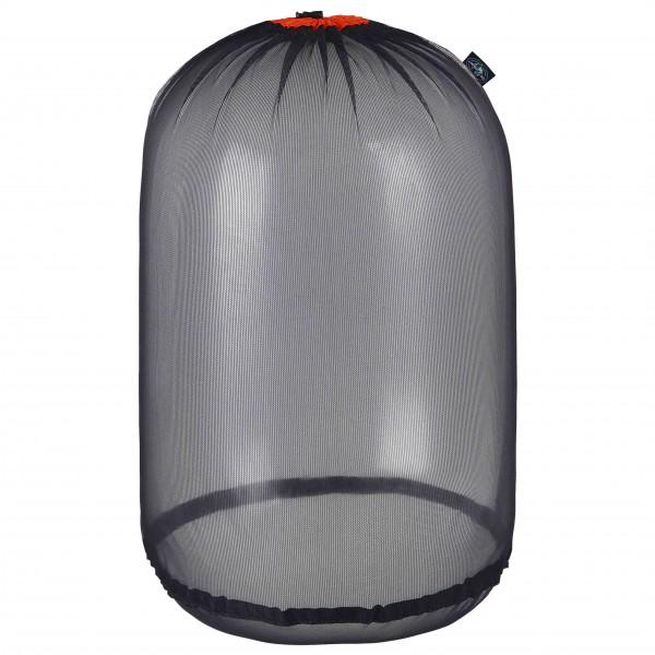 Sea to Summit - Ultra-Mesh Stuff Sack - Packsack Gr XL grau/schwarz AUMSSXLOR