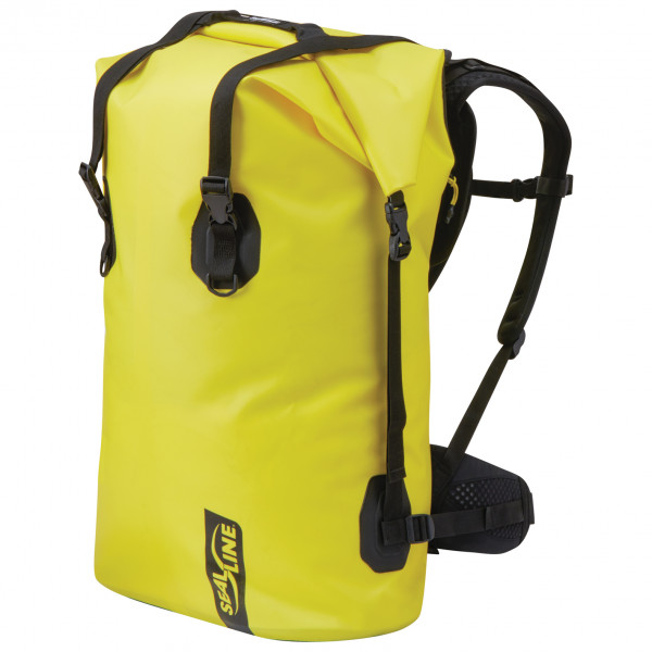 Image of SealLine Black Canyon Packsack Gr 65 l gelb/schwarz