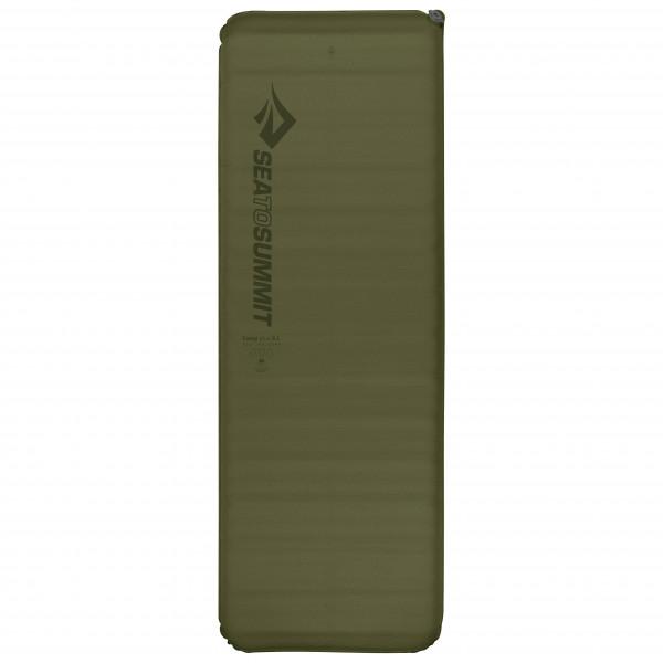 Sea To Summit - Camp Plus Self Inflating Rectangular - Sleeping Mat Size Regular - Wide  Olive