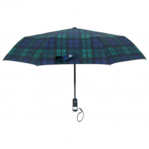 Origin Outdoors - Regenschirm Led-Trek Gr One Size blau/grün 020165