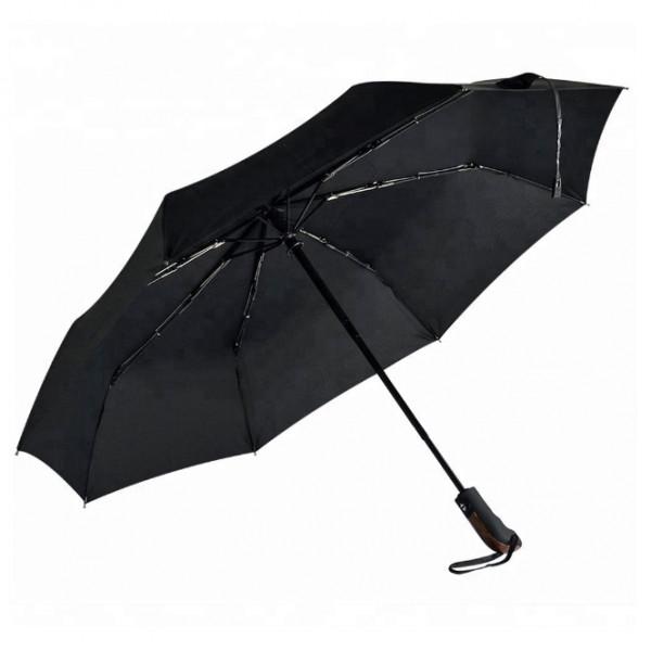 Origin Outdoors - Regenschirm Wind-Trek Gr M schwarz 020164