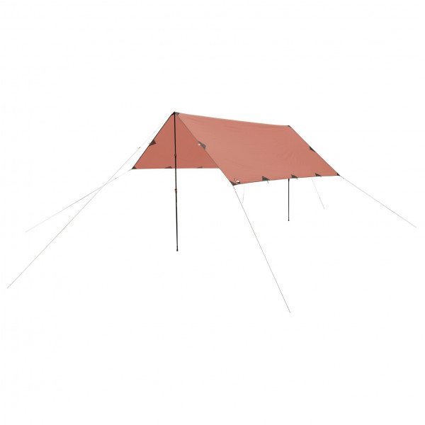 Robens - Tarp 3 X 3 m - Tarp size 3 x 3 m, red/sand/orange