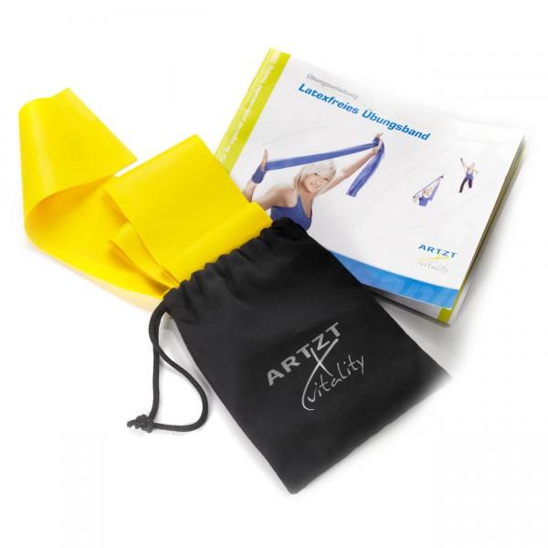 #ARTZT vitality – Latexfree 2.5 m mit Aufbewahrungstasche – Fitnessband Gr 2,5 m blau#