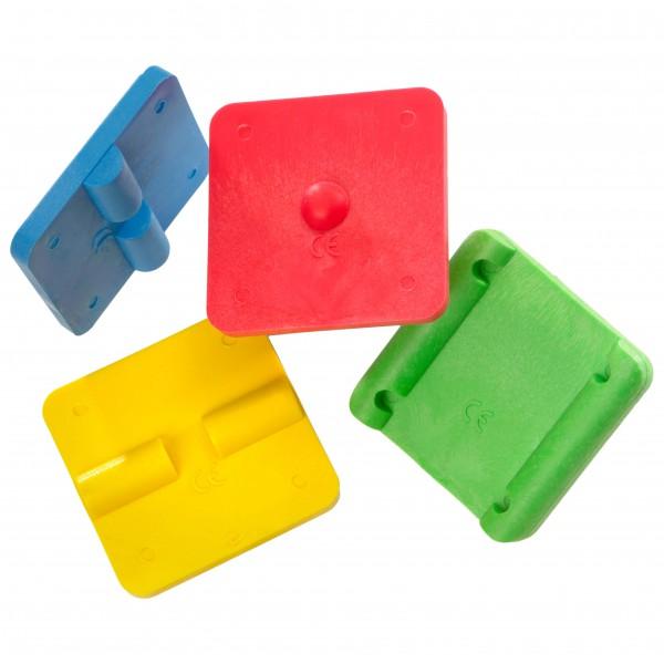 ARTZT vitality - Mini-Stabilitätstrainer 4-Pack - Balance-Trainer grün/ gelb LA-5015