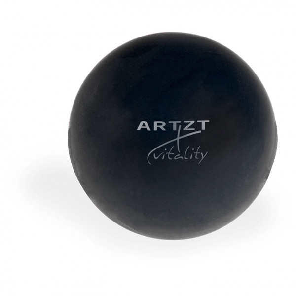 ARTZT vitality - Triggerpunkt-Massageball schwarz/weiß LA-6230