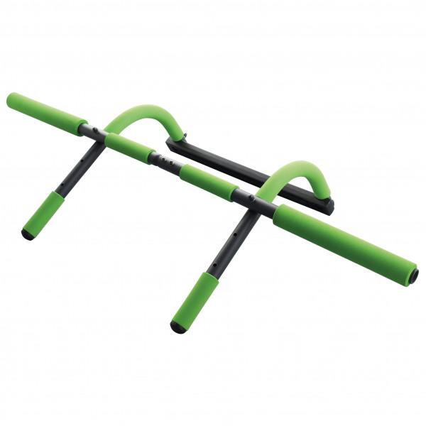 Schildkröt Fitness - Multifunktionales Türreck 4 in 1 - Klimmzugstange schwarz/grün 960044