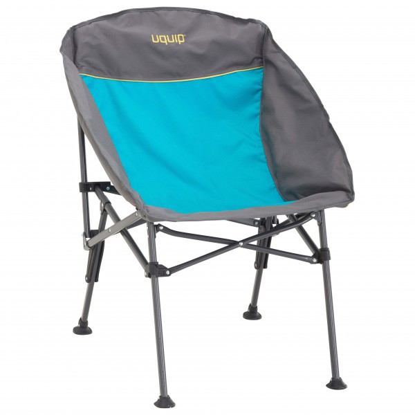 Uquip - Comfy - Campingstuhl Gr One Size grau/türkis 244011