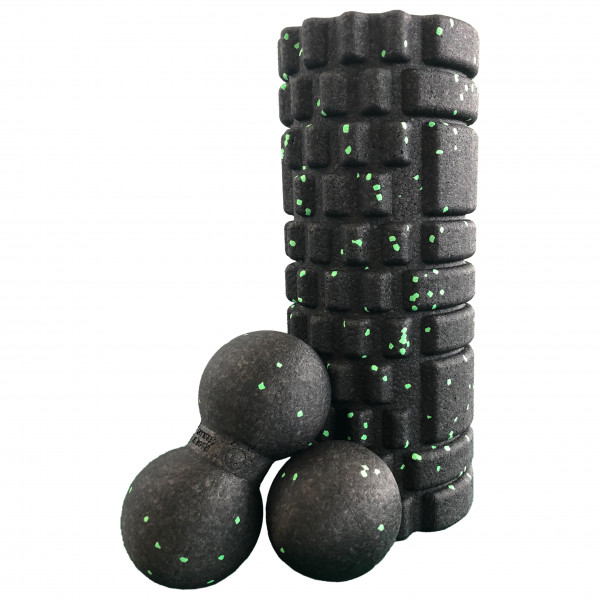 #Schildkröt Fitness – Selbstmassage Set 3-teilig – Faszienrolle Gr One Size#