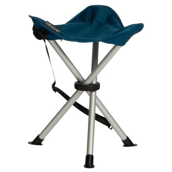 Vango - Balmoral Aluminium Stool - Campingstuhl Gr One Size grau/blau/schwarz CHQBALMORM27Z06