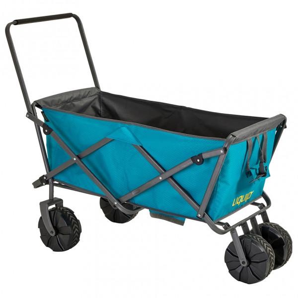 Uquip - Buddy - Bollerwagen Gr max. 100kg blau/grau 245201