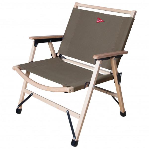 Spatz - Woodstar - Campingstuhl rot/beige;grau;weiß/grau 283024
