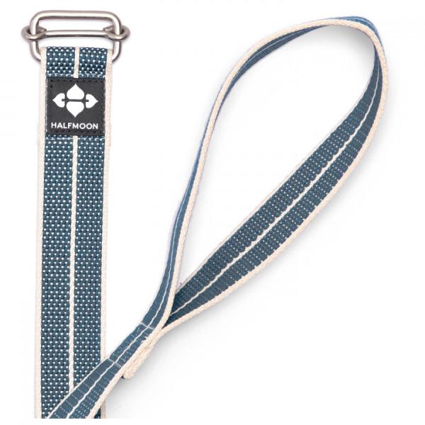 Halfmoon - Organic Cotton 6' Loop Yoga Strap - Yogagurt Gr 183 cm blau HMW1068
