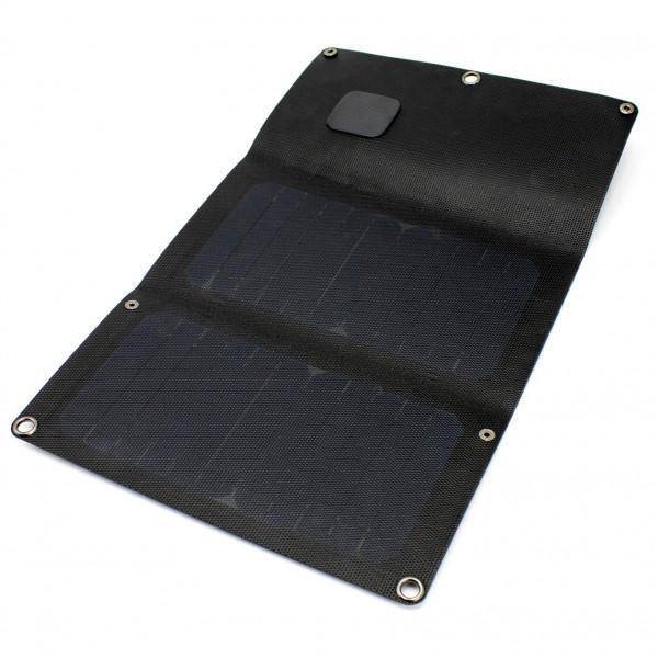 Powertraveller - Falcon 12E ETFE Faltbares Solarpanel - Solarpanel schwarz PTL-FLE012