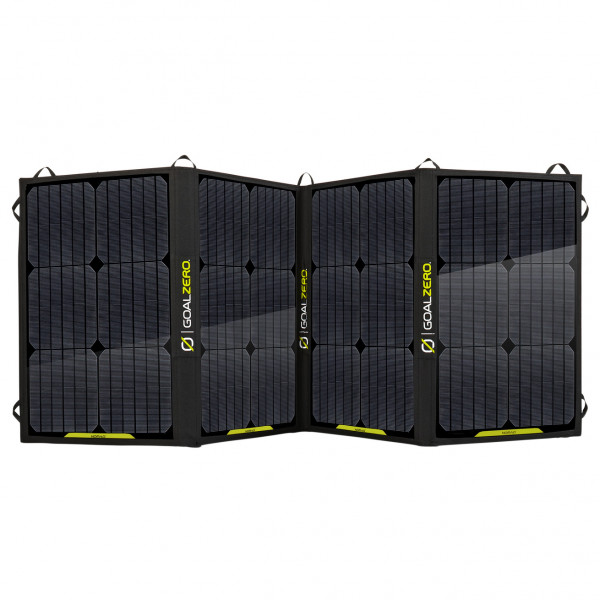 Goal Zero - Nomad 100 Solarpanel - Solar Panel Size 52 X 151 1 X 2 54 Cm  Black