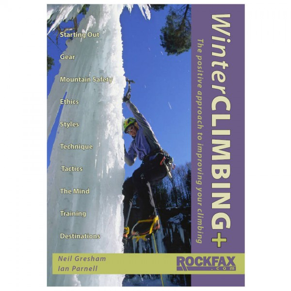 Rockfax - Winter Climbing - Lehrbuch