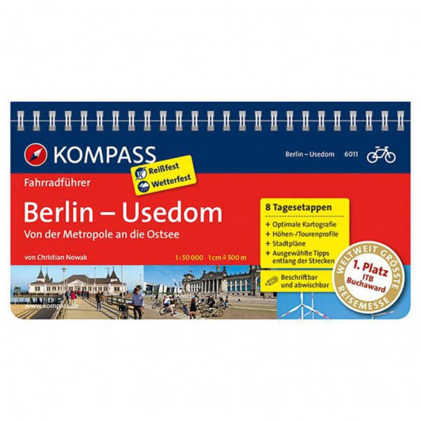*Kompass – Berlin – Radführer*