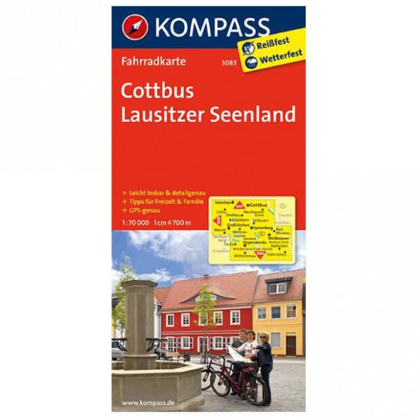 Kompass - Cottbus - Radkarte ISBN 978-3-85026-585-0