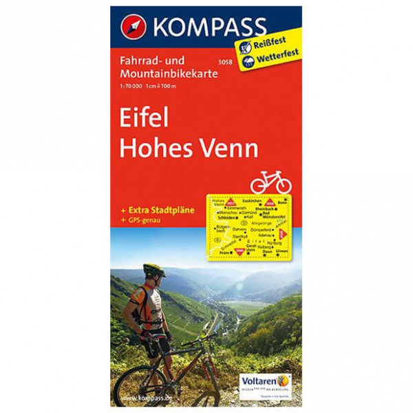 Kompass - Eifel - Radkarte