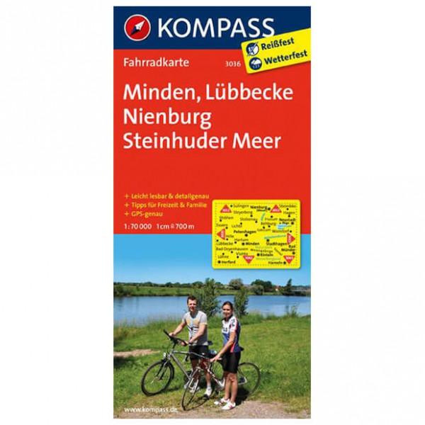 Kompass - Minden - Radkarte