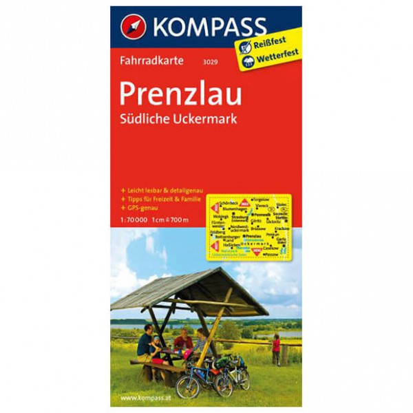Kompass - Prenzlau - Radkarte