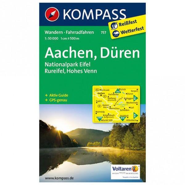 Kompass - Aachen, Düren, Eifel, Rureifel, Hohes...