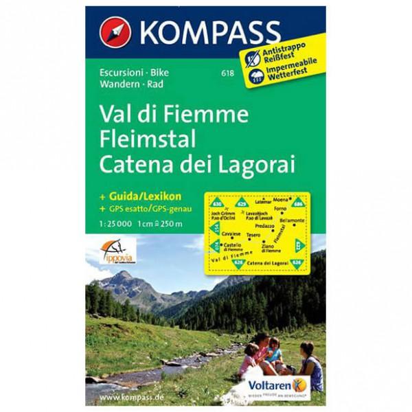 Kompass - Fleimstal /Val di Fiemme /Catena dei Lagorai