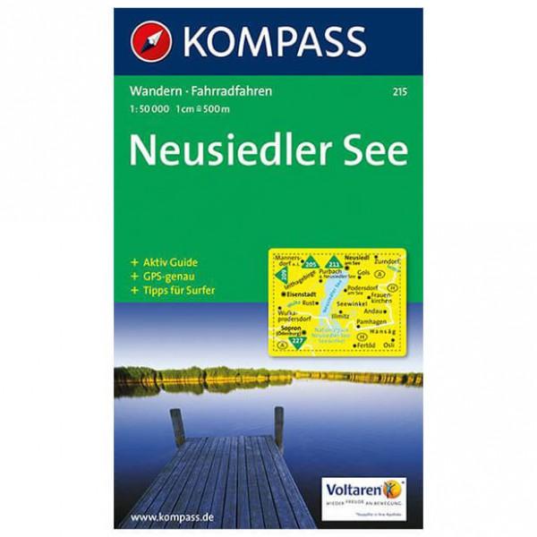 Kompass - Neusiedler See - Wanderkarte ISBN 978-3-85491-116-6