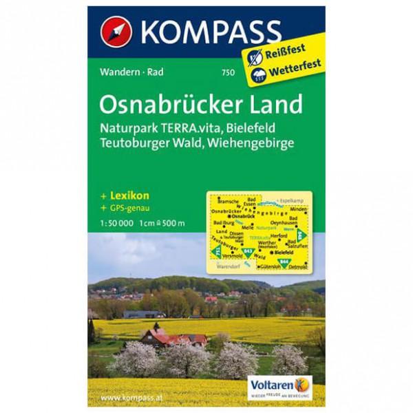 Kompass - Osnabrücker Land - Wanderkarte