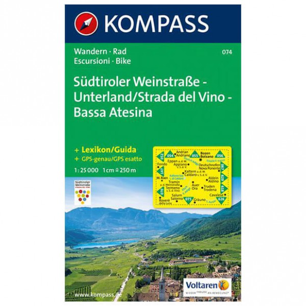 Kompass - Südtiroler Weinstraße - Unterland /St...
