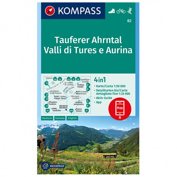 #Kompass – Tauferer Ahrntal, Valle di Tures e Aurina – Wanderkarte 1. Auflage – Neuausgabe#