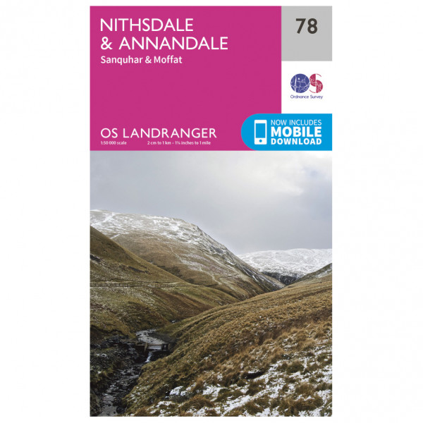 #Ordnance Survey – Nithsdale / Annandale L078 – Wanderkarte Ausgabe 2016#