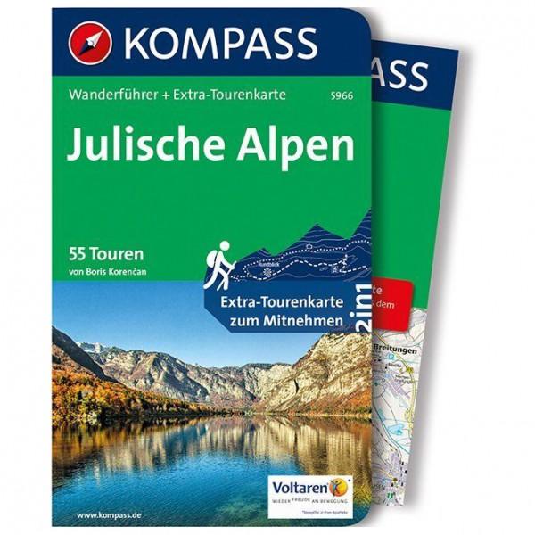 #Kompass – Julische Alpen – Wanderführer Flexibler Einband Mit Umschlagklappen#