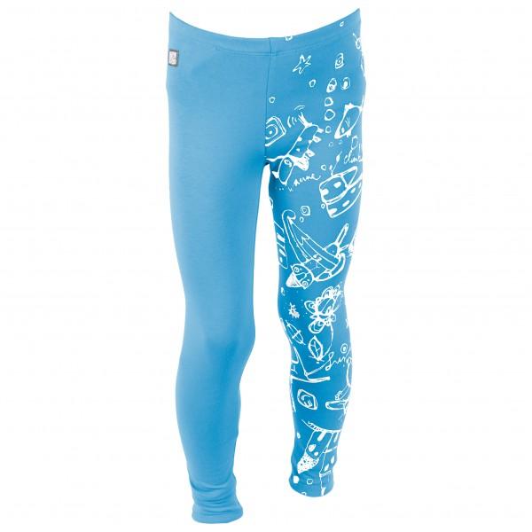 Haasow Angebote E9 - Kid´s Cuchina Boulderhose Gr 12 J blau/türkis/grau