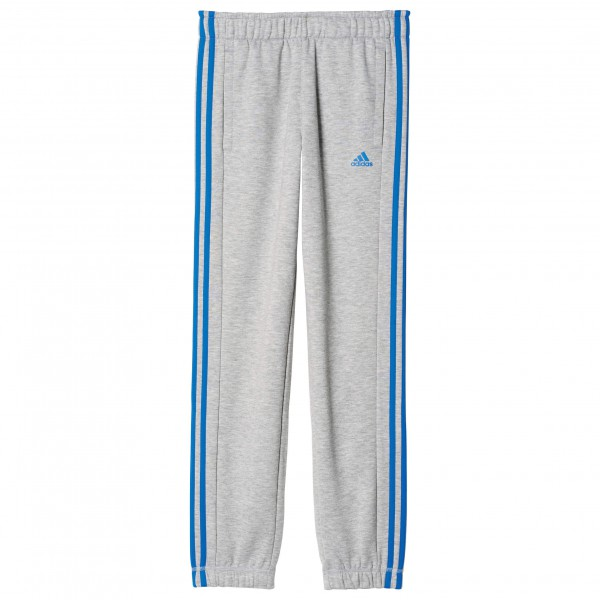 adidas Kid´s Essentials 3S Brushed Pant Fleecebroek maat 128 grijs