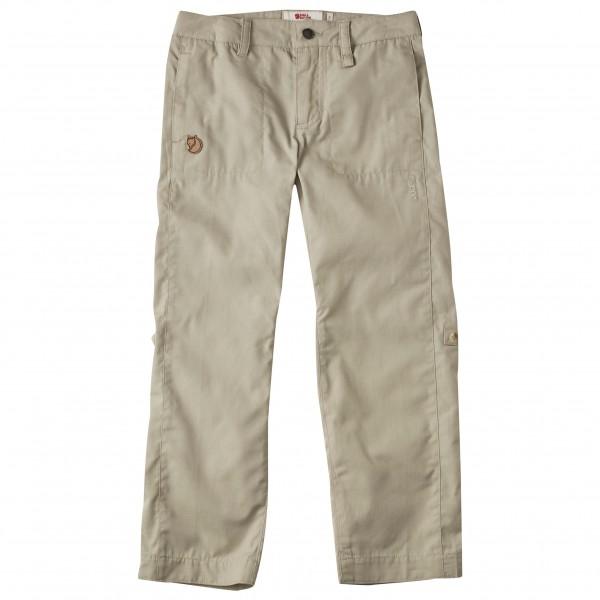 Fjällräven - Kid´s Abisko Shade Trousers Trekkinghose Gr 146 grau/beige