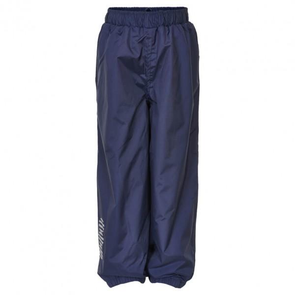 Minymo - Kid's Basic 23 -Rain pants -solid - Regenhose Gr 122 blau/schwarz 3623778