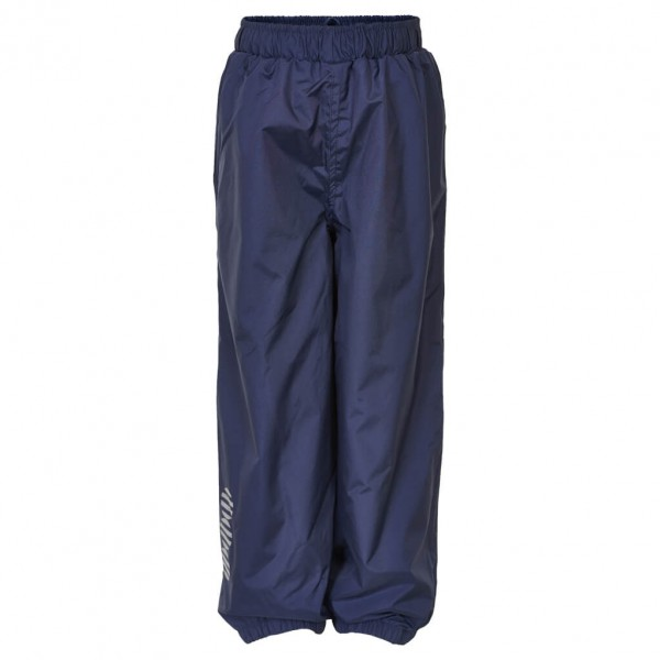 Minymo - Kid's Basic 23 -Rain pants -solid - Regenhose Gr 110;122;134;74;80;86;92 blau/schwarz 3623