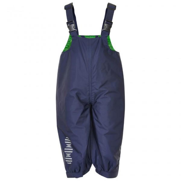 Minymo - Kid's Basic 24 -Rain overalls -solid - Regenhose Gr 104 blau/schwarz 3624778