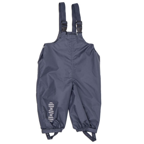 Minymo - Kid's Basic 24 -Rain overalls -solid - Regenhose Gr 104;110;80;86;92;98 blau/schwarz 3624
