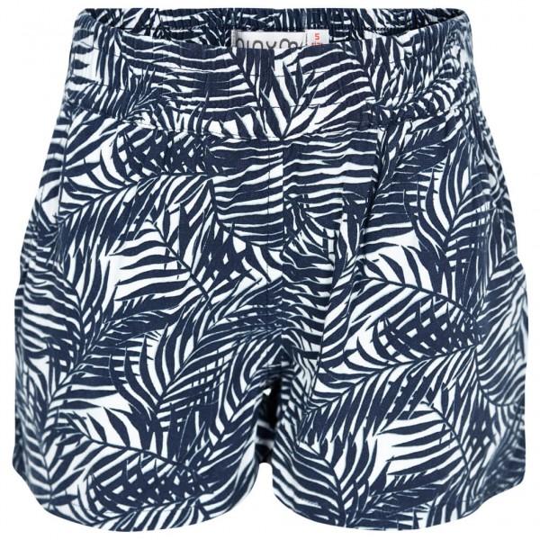 Minymo - Kid's Katia 99 -Shorts w. AOP - Shorts Gr 134 blau/grau