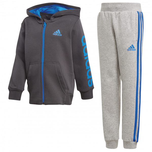 adidas Kid´s Hojo Tracksuit Trainingsbroeken maat 128 carbon s18 -blauw