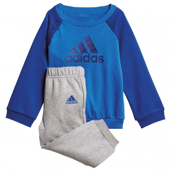 adidas Kid´s Logo Jogger Trainingsbroeken maat 104 blauw-purper-grijs