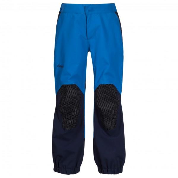 Bergans - Kid's Ruffen Pant - Regenhose Gr 104;110;116;122;98 blau/schwarz 7962