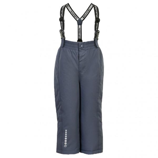 #Minymo – Kid's Snow Pant Tussor Solid – Winterhose Gr 110 blau/schwarz#