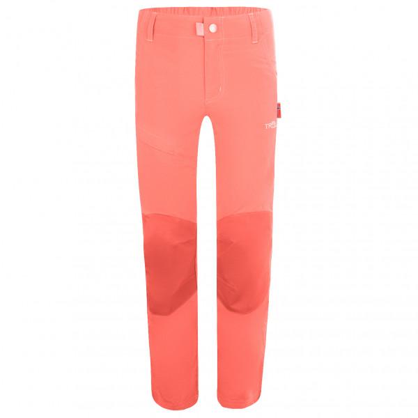 Trollkids - Kids Hammerfest Pants Pro Slim Fit - Walking Trousers Size 134  Red