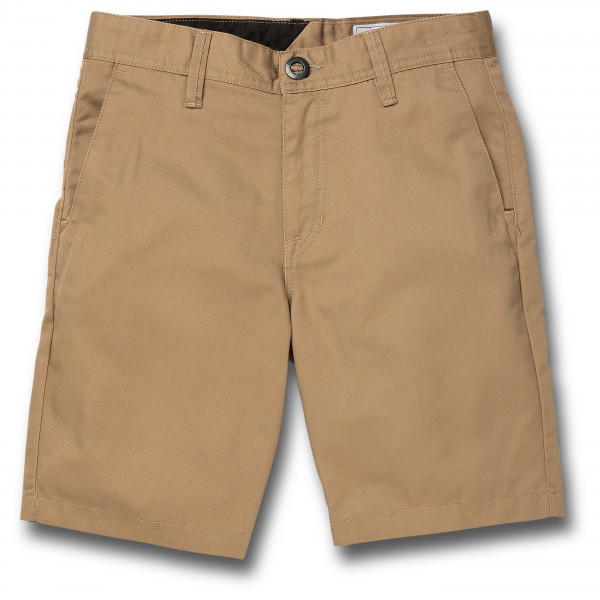 Volcom - Kids Frickin Chino Short - Shorts Size 24  Sand/brown